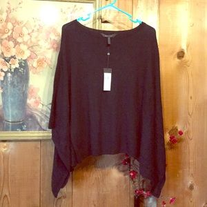 "BCBG Maxazria Black ""Hans"" Sweater XS"